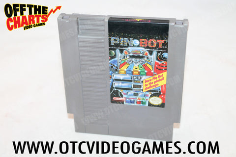 Pinbot Nintendo NES Game Off the Charts