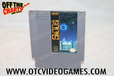 Journey To Silius Nintendo NES Game Off the Charts