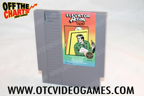 Elevator Action Nintendo NES Game Off the Charts