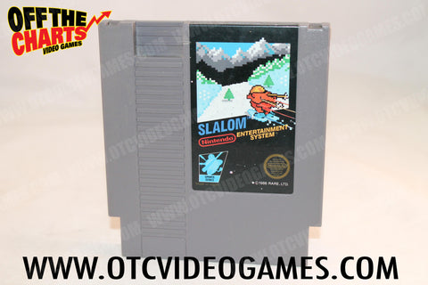 Slalom Nintendo NES Game Off the Charts