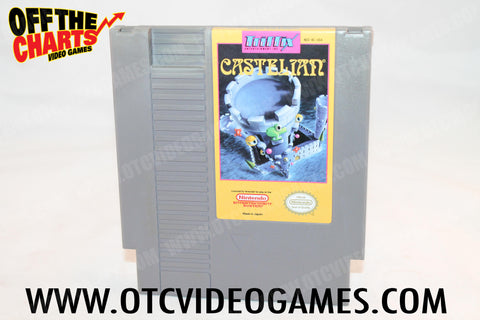 Castelian Nintendo NES Game Off the Charts