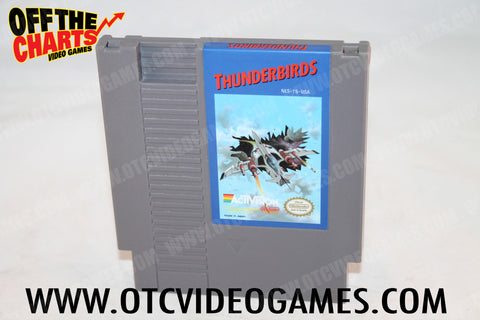 Thunderbirds Nintendo NES Game Off the Charts