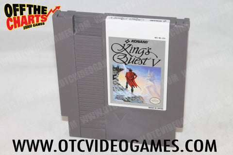 King's Quest V Nintendo NES Game Off the Charts