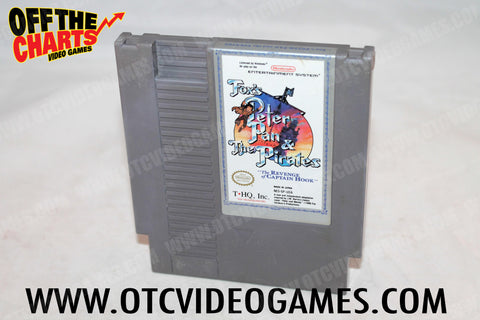 Fox's Peter Pan and the Pirates Nintendo NES Game Off the Charts