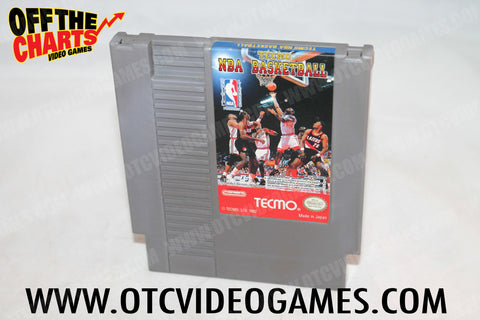 Tecmo NBA Basketball Nintendo NES Game Off the Charts