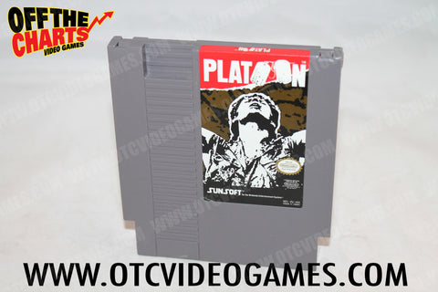 Platoon Nintendo NES Game Off the Charts