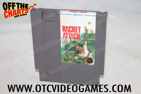 Racket Attack Nintendo NES Game Off the Charts