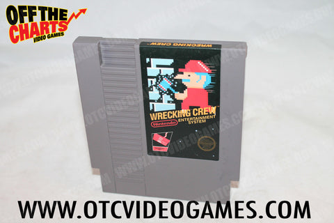 Wrecking Crew - Off the Charts Video Games