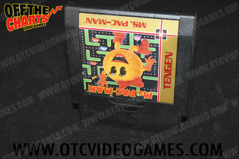 Ms. Pac-Man - Off the Charts Video Games