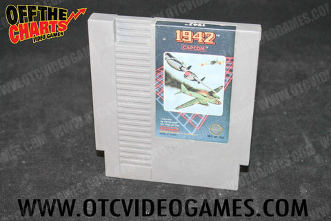 1942 Nintendo NES Game Off the Charts