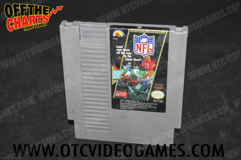 NFL Football Nintendo NES Game Off the Charts