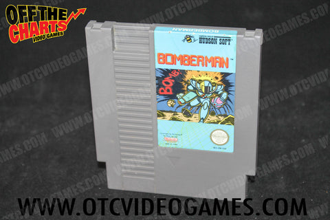Bomberman Nintendo NES Game Off the Charts