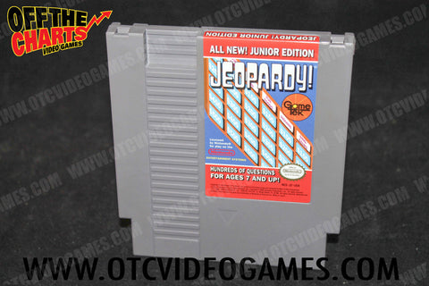 Jeopardy! Junior Edition Nintendo NES Game Off the Charts