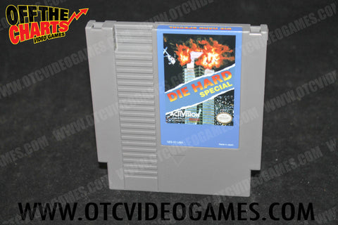 Die Hard Special *REPRODUCTION* Nintendo NES Game Off the Charts