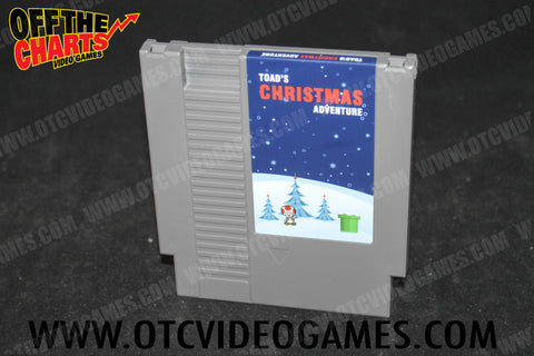 Toad's Christmas Adventure *REPRODUCTION* - Off the Charts Video Games