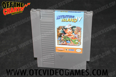 Adventure Island IV *REPRODUCTION* Nintendo NES Game Off the Charts