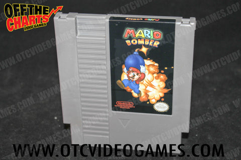 Mario Bomber *REPRODUCTION* Nintendo NES Game Off the Charts