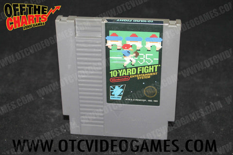 10-Yard Fight Nintendo NES Game Off the Charts