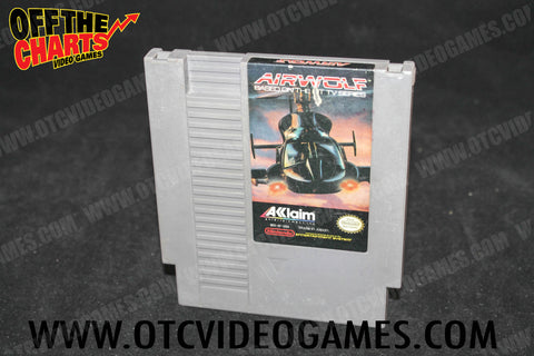 Air Wolf - Cartridge Only Nintendo NES Game Off the Charts
