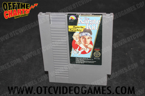 The Karate Kid - Off the Charts Video Games