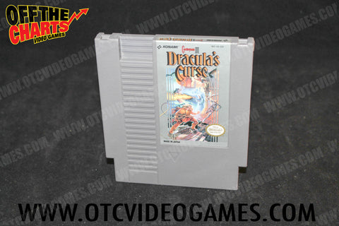 Castlevania III: Dracula's Curse - Off the Charts Video Games