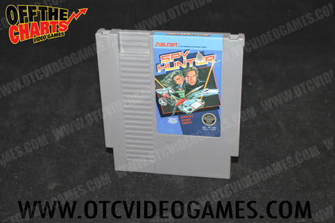 Spy Hunter Nintendo NES Game Off the Charts