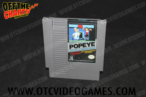 Popeye Nintendo NES Game Off the Charts