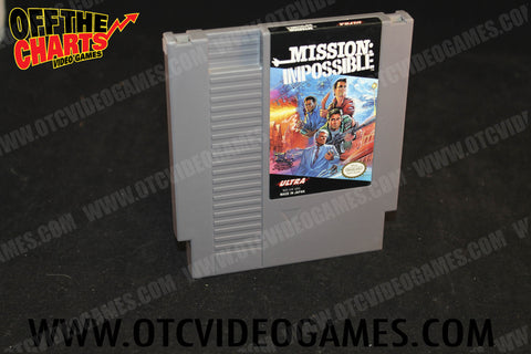 Mission: Impossible Nintendo NES Game Off the Charts