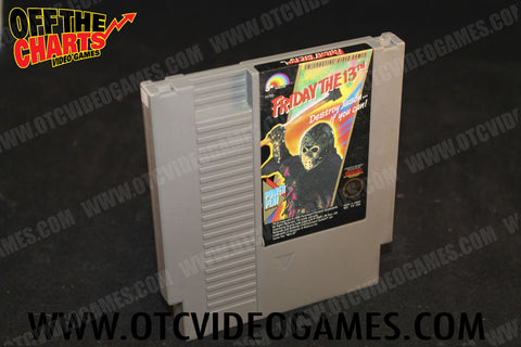 Friday the 13th Nintendo NES Game Off the Charts