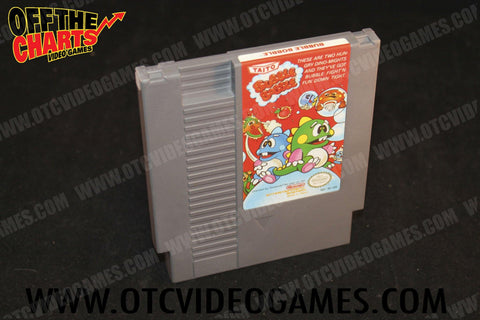 Bubble Bobble Nintendo NES Game Off the Charts