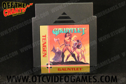 Gauntlet Nintendo NES Game Off the Charts