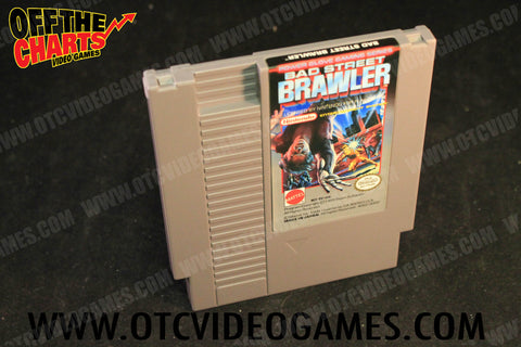 Bad Street Brawler Nintendo NES Game Off the Charts