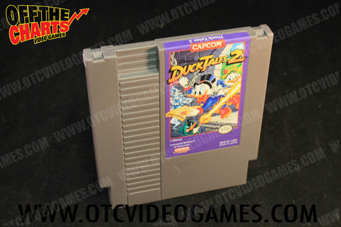 Duck Tales 2 Nintendo NES Game Off the Charts
