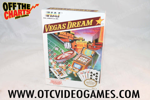 Vegas Dream Box - Off the Charts Video Games