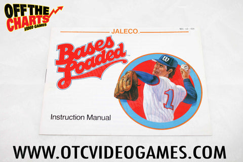 Bases Loaded Manual Nintendo NES Manual Off the Charts