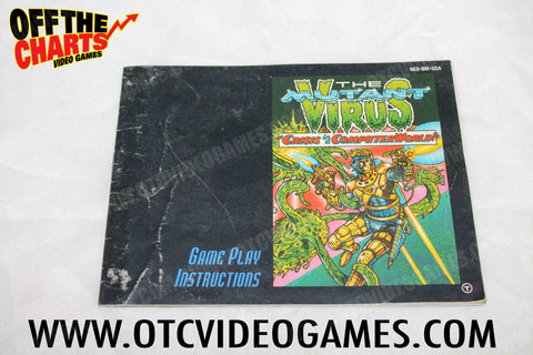 The Mutant Virus Manual - Off the Charts Video Games