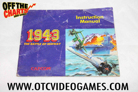 1943: The Battle of Midway Manual Nintendo NES Manual Off the Charts