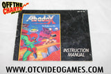 Abadox Manual - Off the Charts Video Games