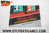 Super Mario Bros. Duck Hunt Manual - Off the Charts Video Games
