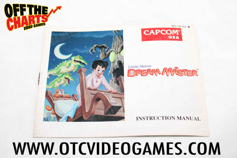 Little Nemo Dream Master Manual - Off the Charts Video Games