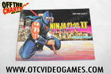 Ninja Gaiden II Manual Nintendo NES Manual Off the Charts