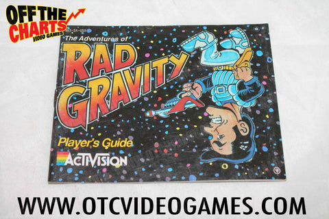 Rad Gravity Manual Nintendo NES Manuals Off the Charts