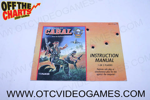 Cabal Manual - Off the Charts Video Games