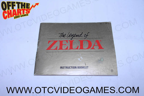 The Legend of Zelda Manual - Off the Charts Video Games