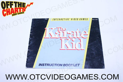 The Karate Kid Manual - Off the Charts Video Games