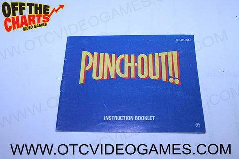 Punch-Out Manual - Off the Charts Video Games