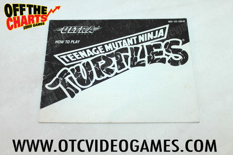 Teenage Mutant Ninja Turtles Manual - Off the Charts Video Games