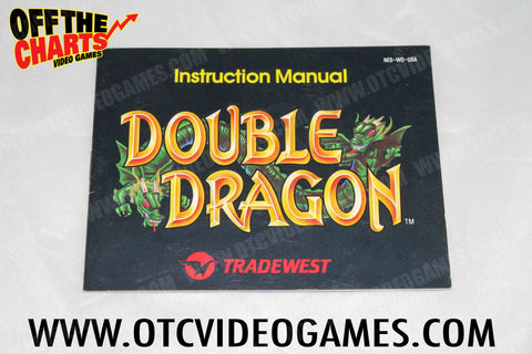 Double Dragon Manual Nintendo NES Manual Off the Charts