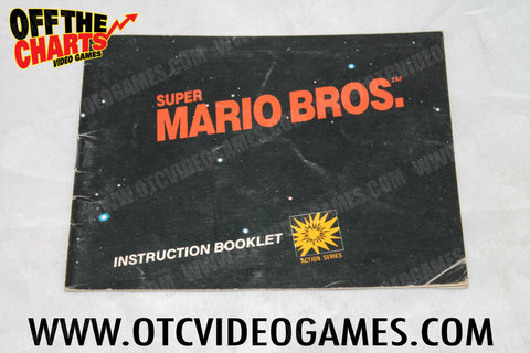 Super Mario Bros. Manual Nintendo NES Manual Off the Charts