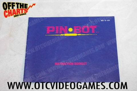 Pin Bot Manual - Off the Charts Video Games